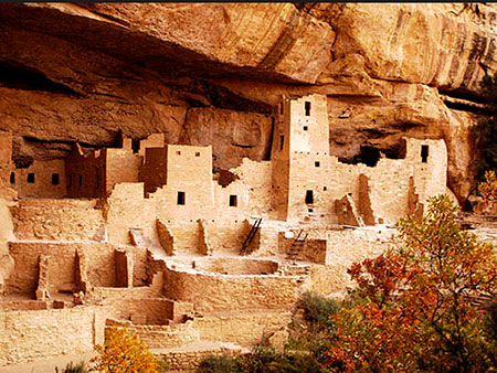Mesa Ruins, Cliff Dwelling in Colorado